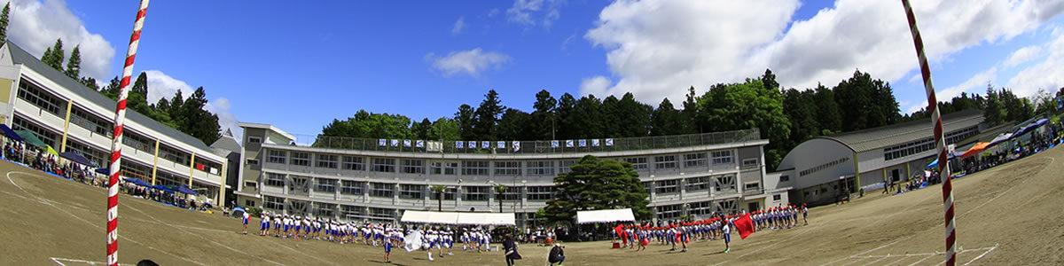 川崎町の川崎小学校の様子です。